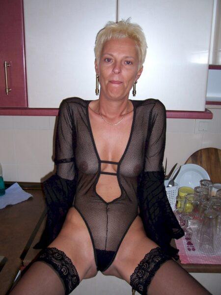 Une femme mature pour un dial chaud et plus